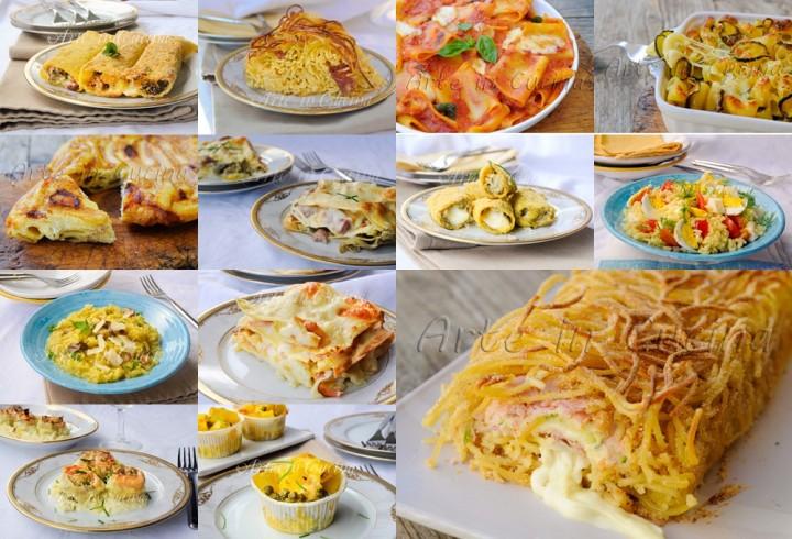Primi piatti ricette facili veloci e sfiziose arte in cucina for Ricette primi piatti veloci bimby