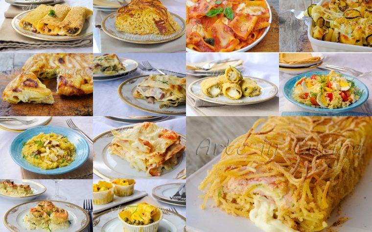 Primi piatti ricette facili veloci e sfiziose