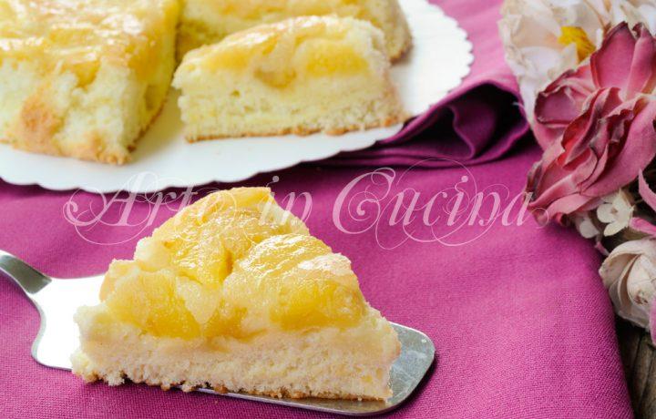 Schiacciata di mele ricetta dolce facile e veloce