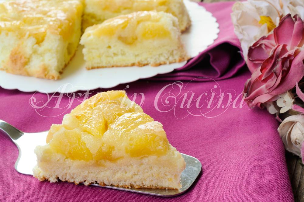 Schiacciata di mele ricetta dolce facile e veloce arte for Cucina dolce