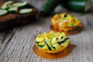Souffle di zucchine e formaggio al forno veloci