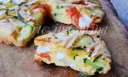 Torta di verdure veloce al forno ricetta leggera