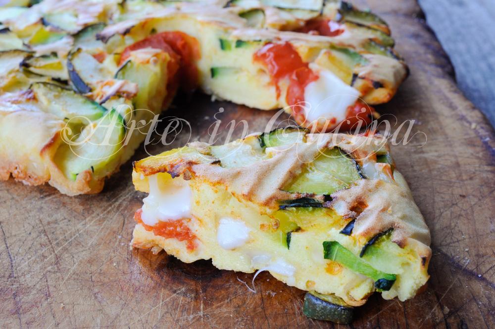 Torta di verdure veloce al forno ricetta leggera for Ricette in cucina