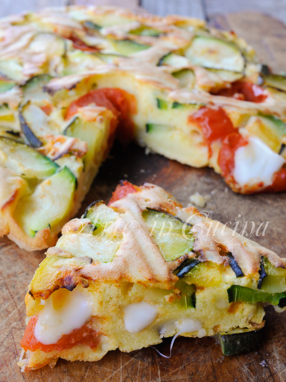 Torta di verdure veloce al forno ricetta leggera vickyart arte in cucina
