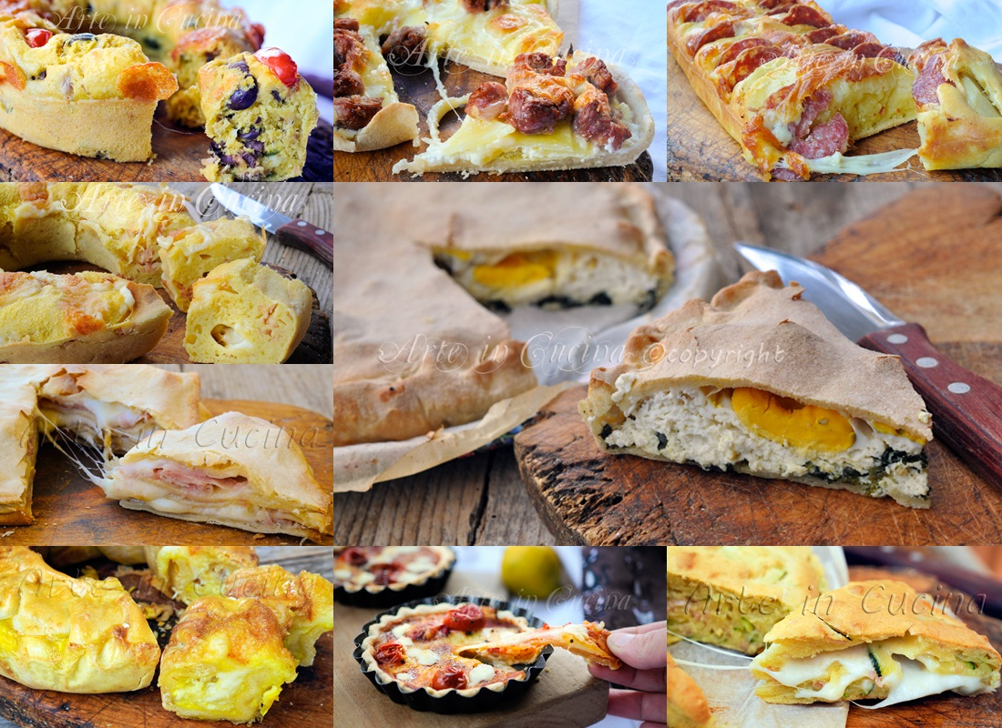 Torte salate per Pasqua e pasquetta ricette facili | Arte in Cucina