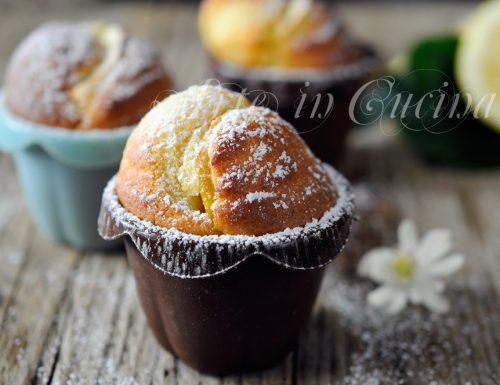 Muffin alla ricotta e limone ricetta veloce