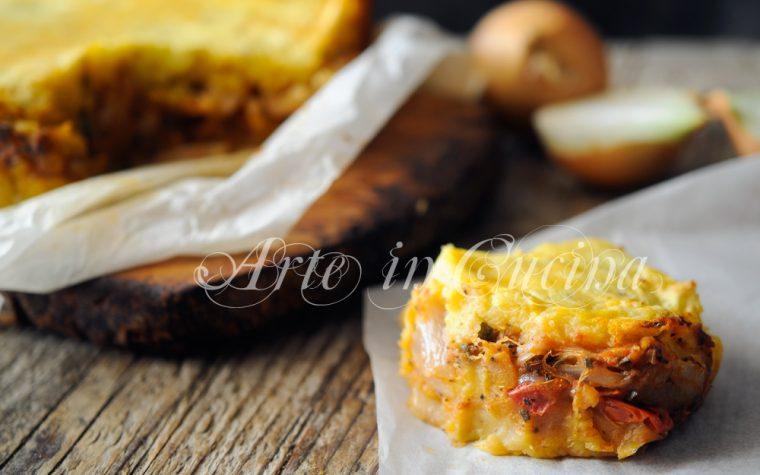 Pitta di patate salentina salata ricetta facile