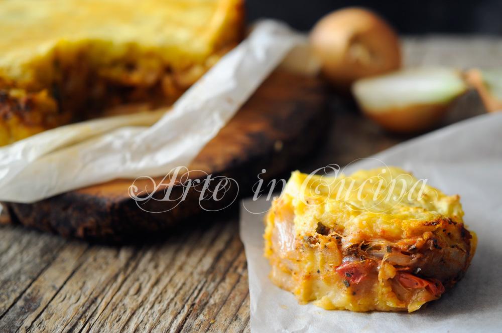 Pitta di patate salentina salata ricetta facile vickyart arte in cucina