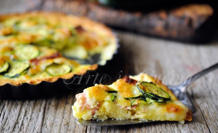 Quiche di patate e zucchine ricetta facile