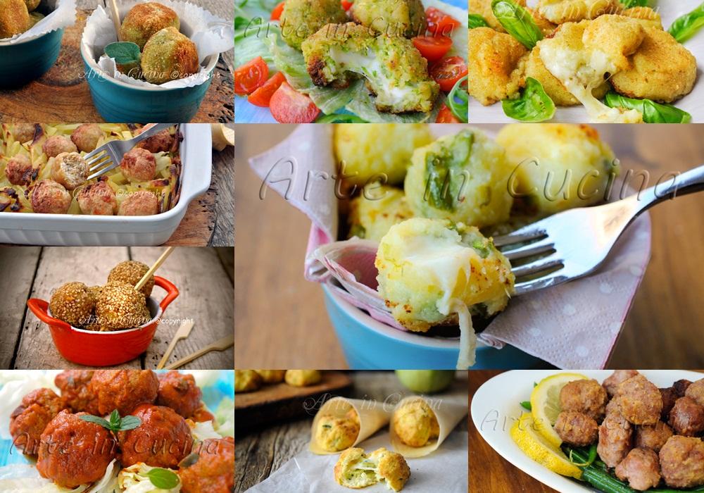Ricette polpette di carne verdure pesce patate