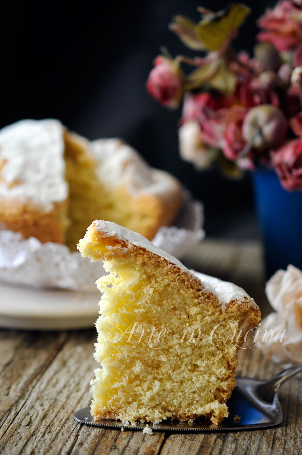 Torta semplice e veloce da colazione o merenda vickyart rate in cucina