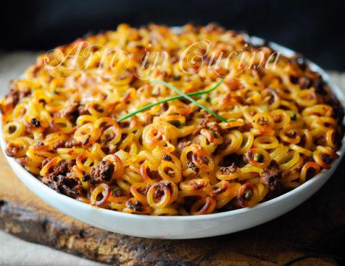 Anelletti al forno ricetta siciliana primo piatto