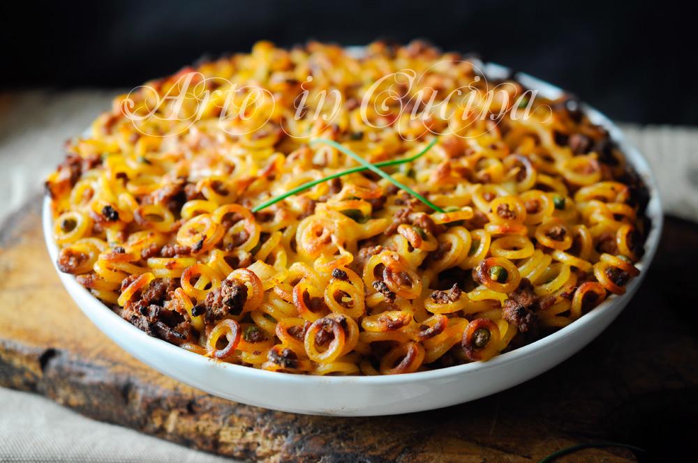 Anelletti al forno ricetta siciliana primo piatto arte for Ricette in cucina