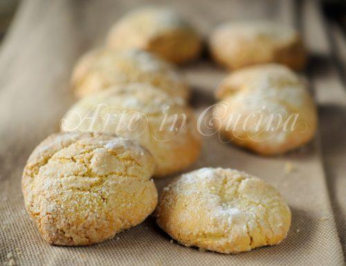 Biscotti morbidi al caffè facili e veloci