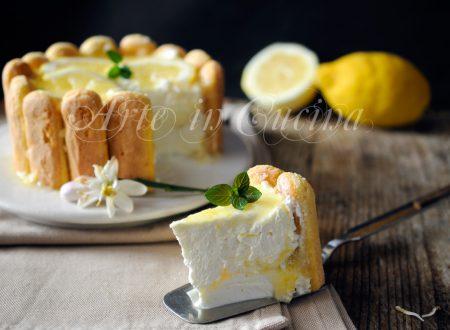 Charlotte al limone ricetta dolce senza cottura facile