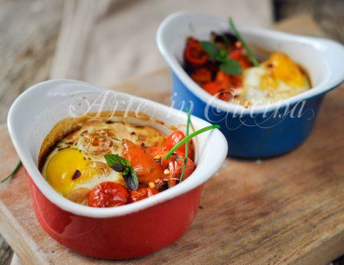 Cocotte uova e peperonata ricetta veloce