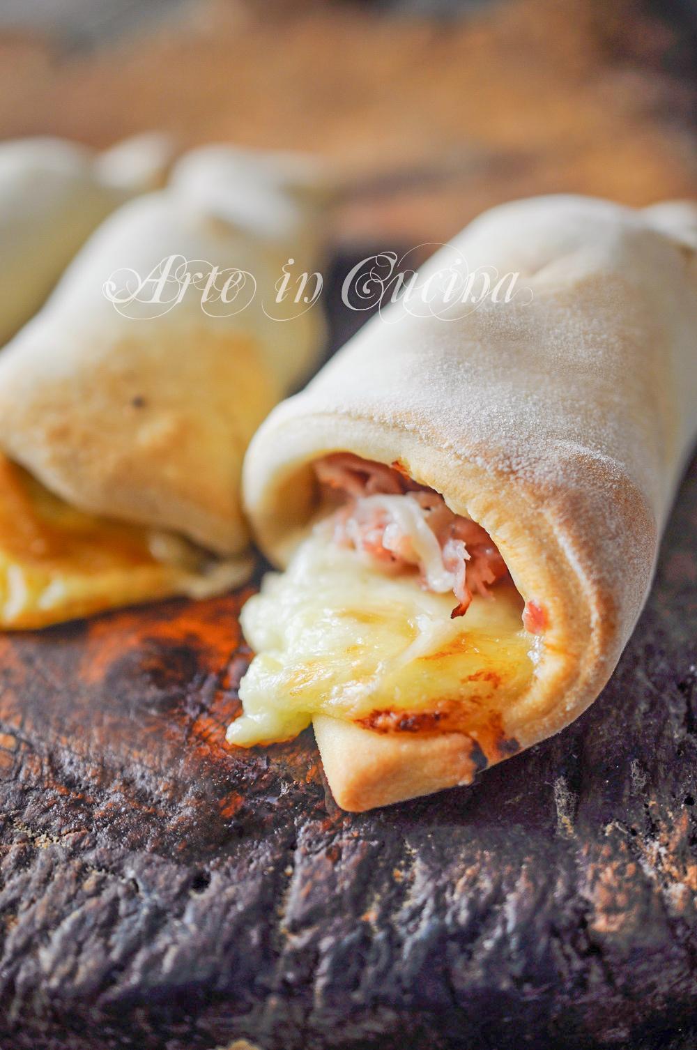 Coni di piadina farciti ricetta facile e veloce vickyart arte in cucina