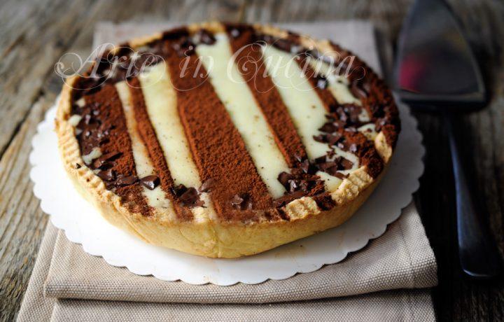 Crostata alla vaniglia e cioccolato ricetta facile