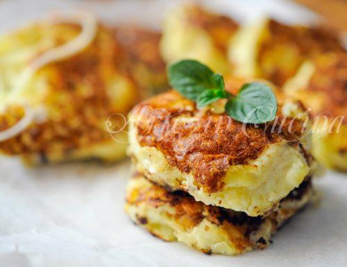 Frittelle con patate e ricotta facili e veloci