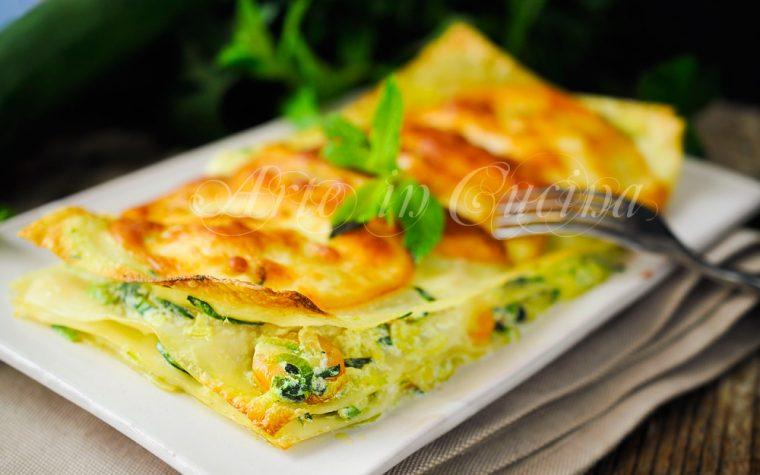 Lasagne gamberi e zucchine ricetta primo veloce
