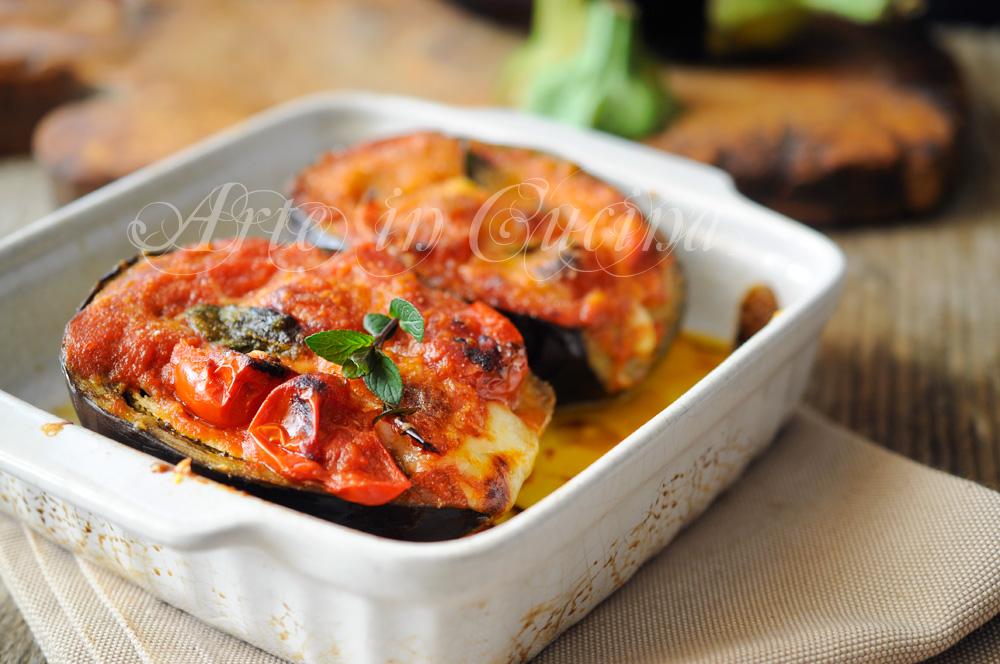 Melanzane alla siciliana ripiene veloci e facili - La cucina siciliana ...