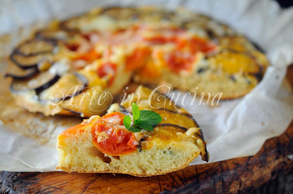Pizza rovesciata alle verdure facile e veloce