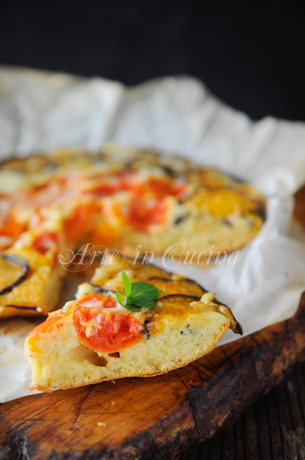 Pizza rovesciata alle verdure facile e veloce vickyart arte in cucina