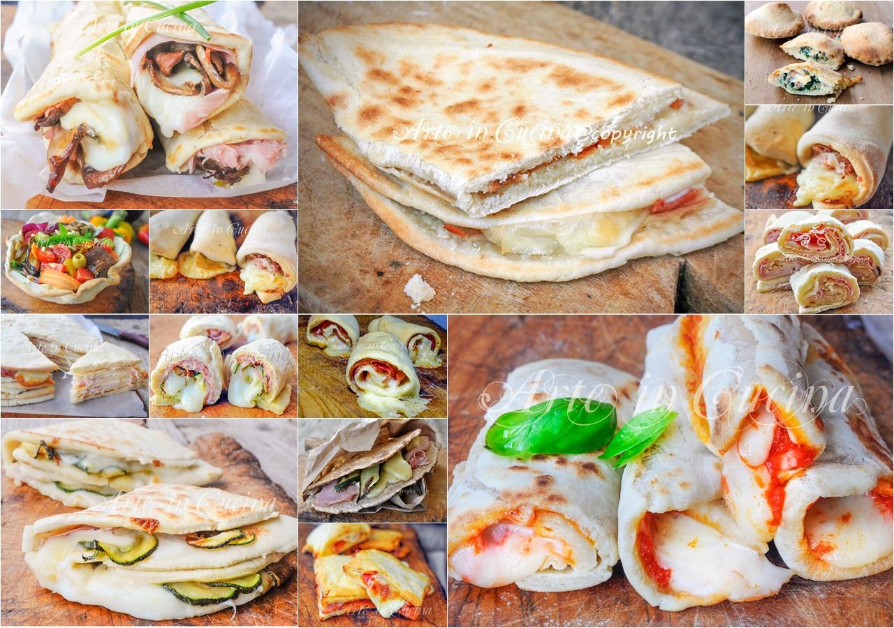 Ricette con piadina idee semplici e sfiziose | Arte in Cucina
