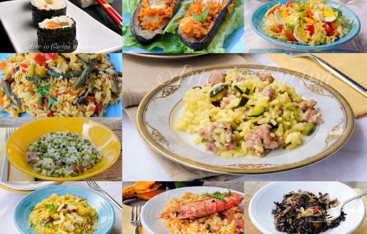 Riso e risotti arte in cucina for Ricette risotti