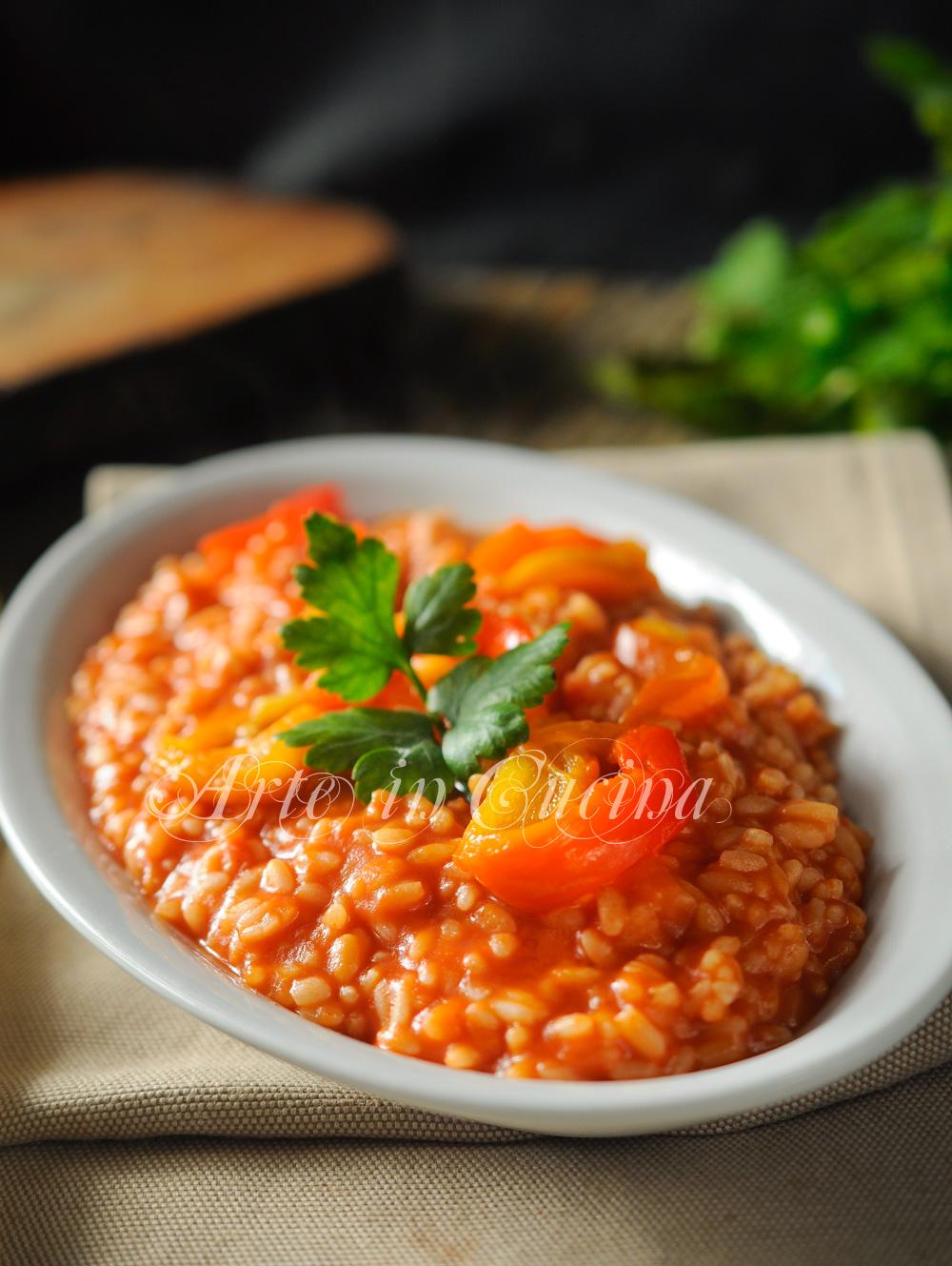 risotto-peperoni-pomodoro-ricetta-primo-facile-2