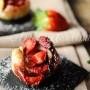 Rose di sfoglia fragole e nutella facili e veloci vickyart arte in cucina