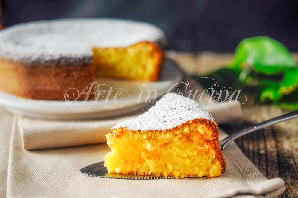 ... Torta all arancia e limone senza burro ricetta veloce vickyart arte in  cucina c52893df74