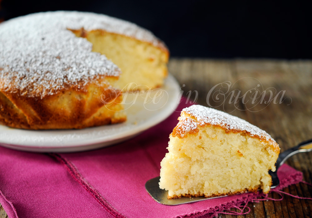 Torta margherita senza uova e lattosio ricetta