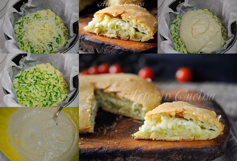 Torta salata ad impasto molle con verdure vickyart arte in cucina