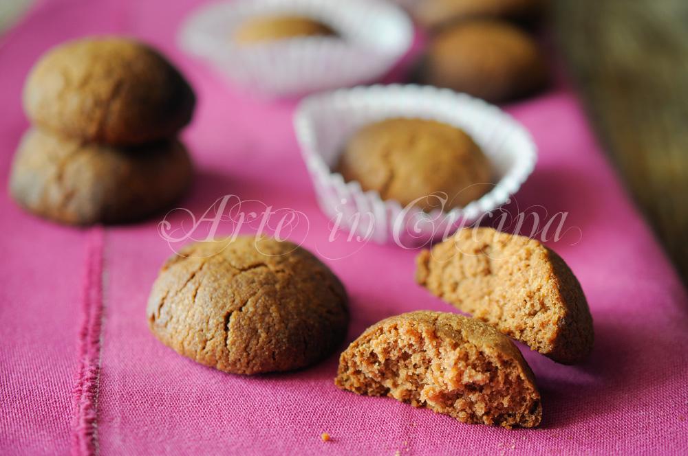 Biscotti agli amaretti e cacao ricetta veloce e facile vickyart arte in cucina