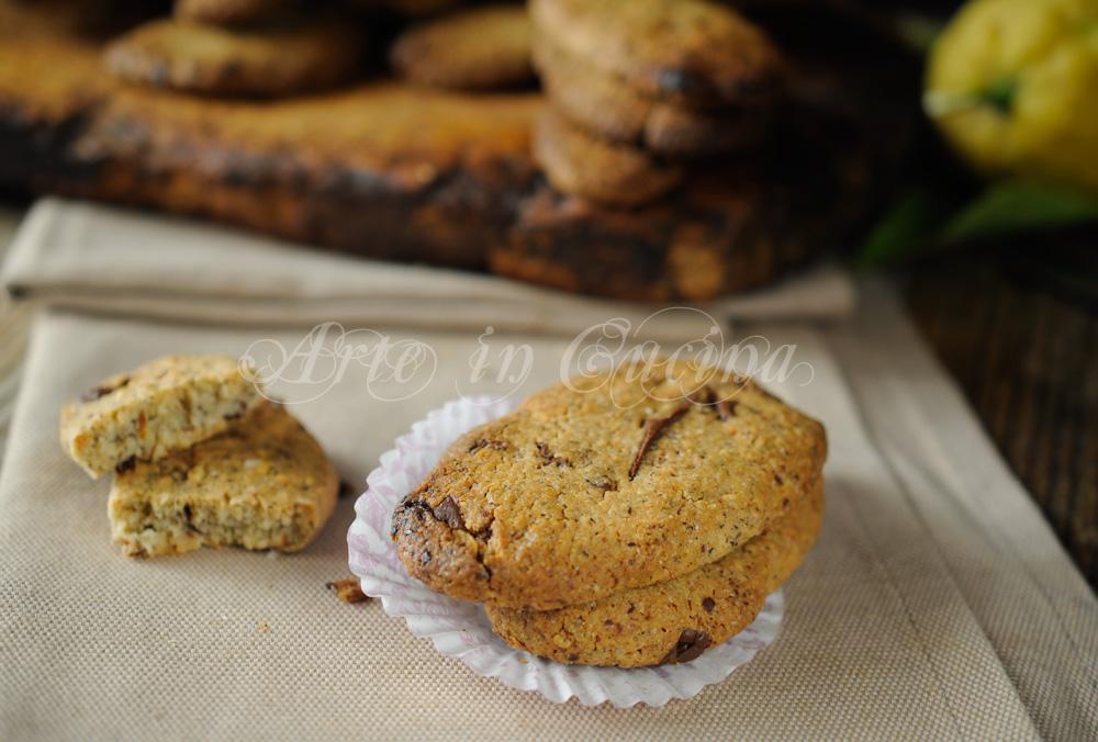 Biscotti con grano saraceno e cioccolato veloci vickyart arte in cucina