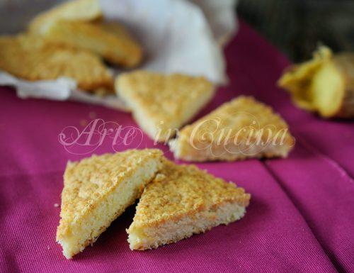 Biscotti limone e zenzero petticoat tails scozzesi