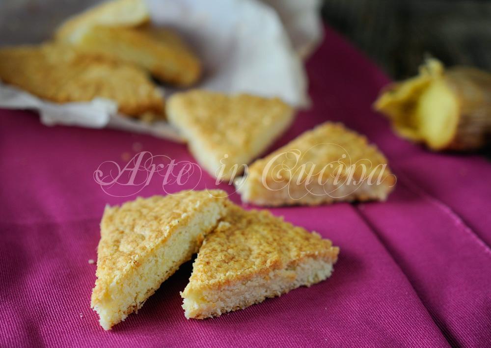 Biscotti limone e zenzero petticoat tails scozzesi vickyart arte in cucina