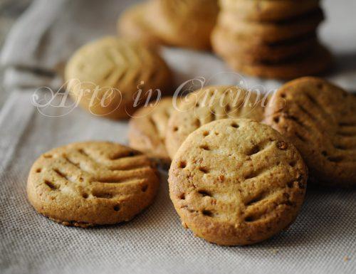 Digestive biscotti fatti in casa ricetta facile