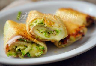 Involtini di lasagna gratinati con zucchine vickyart arte in cucina