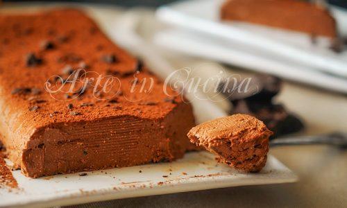 Mattonella cremosa al cioccolato senza forno