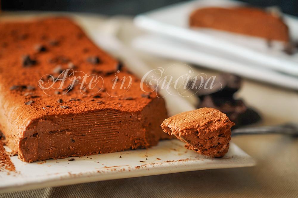 Mattonella cremosa al cioccolato senza forno vickyart arte in cucina