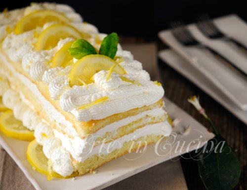 Mattonella semifreddo al limone dolce veloce