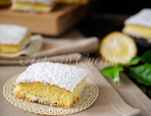 Nuvolette al limone tortine sofficissime