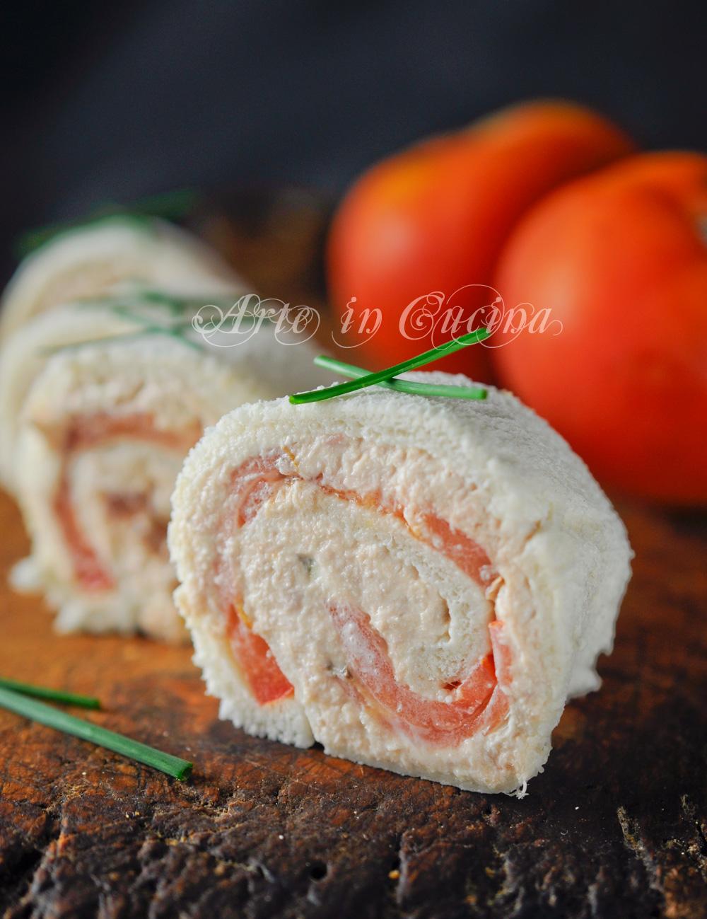 Rotolini con mousse di tonno e pomodori vickyart arte in cucina