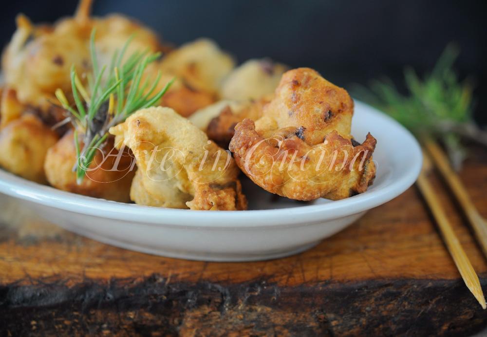 Zeppoline al parmigiano e olive ricetta veloce vickyart arte in cucina