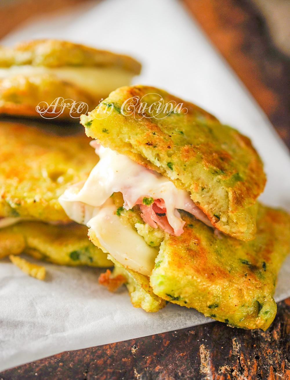 Zucchine in carrozza farcite con prosciutto vickyart arte in cucina