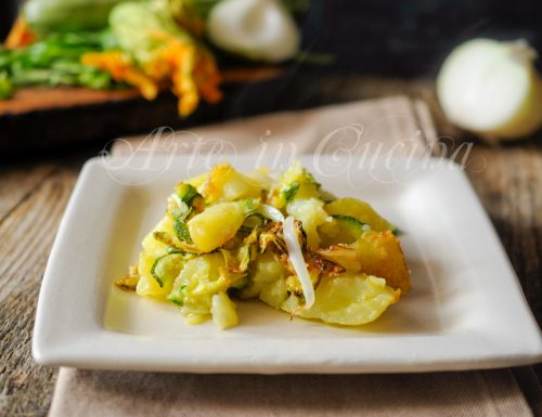 Zucchine trifolate alla paesana con patate