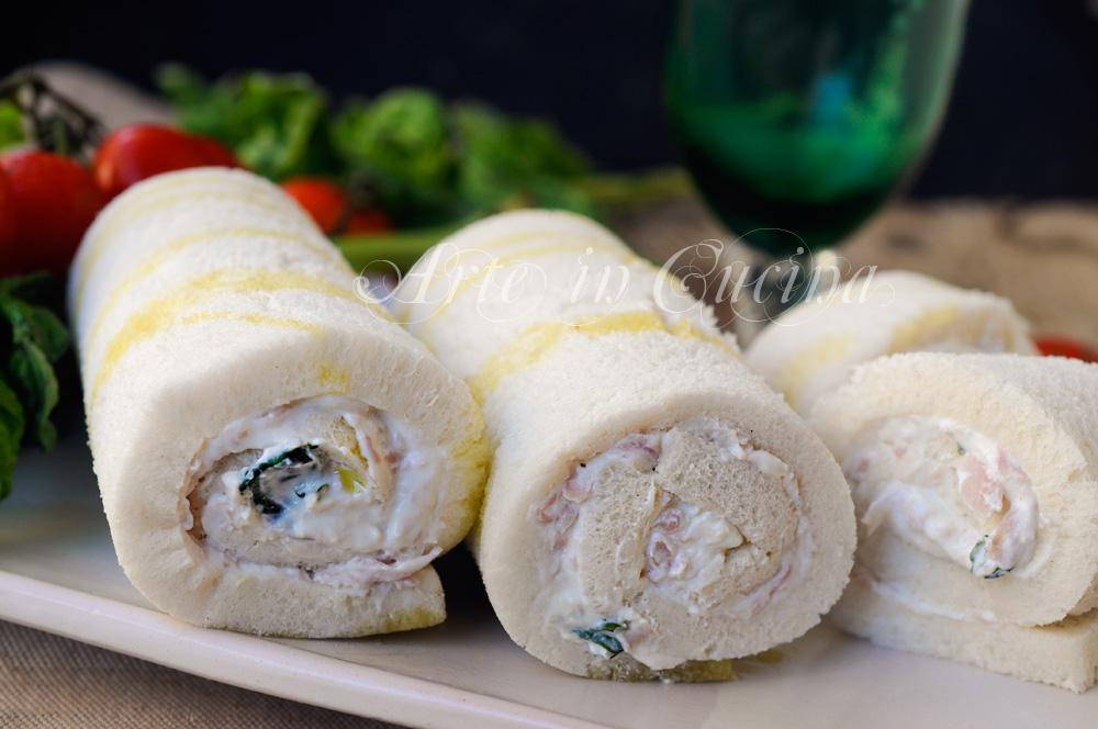 Cannoli di pancarre freddi con ricotta e prosciutto vickyart arte in cucina