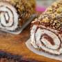 Cannoli di pancarrè nutella e panna freddi vickyart arte in cucina